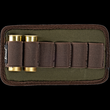 Shotgun cartridge holder f/belt